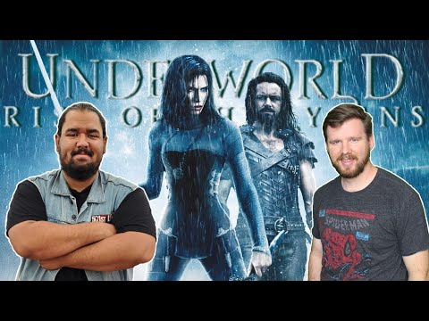 My Friend FINALLY Watches Underworld Rise of the Lycans!