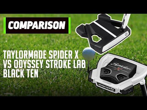TaylorMade Spider X vs Odyssey Stroke Lab Black Ten | Putter Face Off | Golfmagic.com