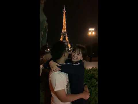 Trấn Thành, Hariwon, Đạo diễn Nhất Trung, Anh Đức, Diệu Nhi hôn nhau tại Pháp dưới tháp Eiffels - Thời lượng: 3:55.