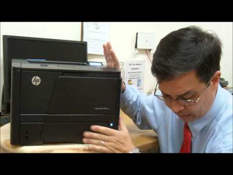 Overview of HP LaserJet Pro M401n Printer