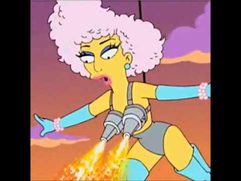 Tekst piosenki Lady Gaga - Super Star feat The Simpsons po polsku