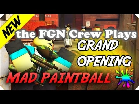 The FGN Crew Plays: Roblox - Mad Paintball