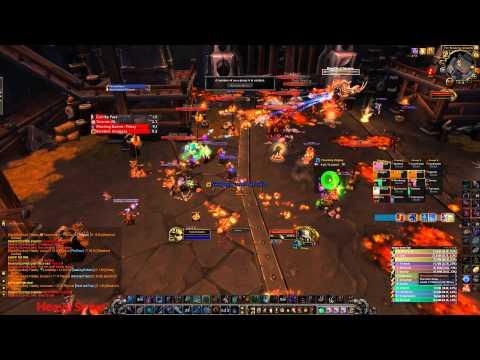 Last 50 seconds of  Beastlord BRF HC Kill
