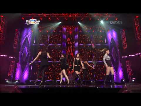 buttons - After School performing to The Pussycat Dolls'