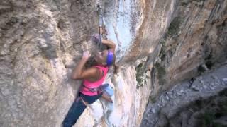 Climbing Sardinia, Italy and Switzerland by Sasha DiGiulian