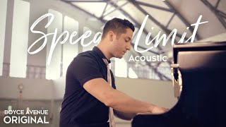 Boyce Avenue - Speed Limit (Acoustic) on iTunes & Spotify - YouTube