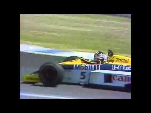 gp di spagna jerez 1986 - ayrton senna vs nigel mansell