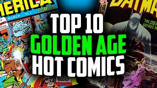 Top 10 Golden Age Comics by Overstreet 2018!