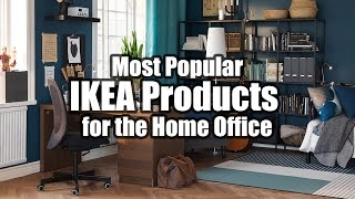 Video Most Popular IKEA Products for the Home Office Computer Setup MP3, 3GP, MP4, WEBM, AVI, FLV Agustus 2018