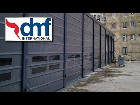 DMF International fast action PVC fold up doors