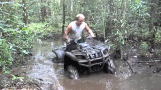 8. Yamaha Grizzly 660 mudding