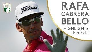 I migliori colpi di Rafa Cabrera Bello nel 1° giro del 75° Open d'Italia