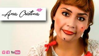 #VideoTutorial de #maquillaje para #halloween del personaje #Anabelle de la pelicula #ElConjuro.Sígueme:https://www.facebook.com/anacristinamaquillaje  -   [ Facebook ]@anacristinamaquillaje   -   [ Instagram ]AnaFerreirah  -  [ Snapchat ]Suscribete! https://www.youtube.com/channel/UC8VZd0P3Szvmjy_48TeAp4AContáctanos:anacristinamaquillajecontacto@gmail.com
