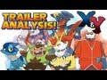 Pokémon X and Y - Starter Evolutions + Character Customization Details | Trailer Analysis