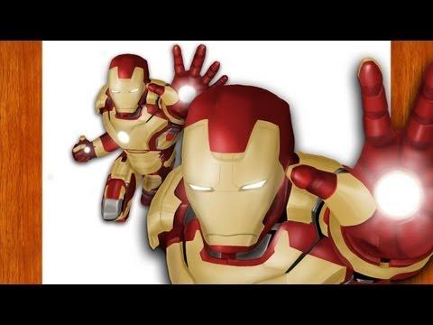 Desenhando - Iron Man