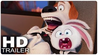 THE SECRET LIFE OF PETS All Trailer + Clips (2016)