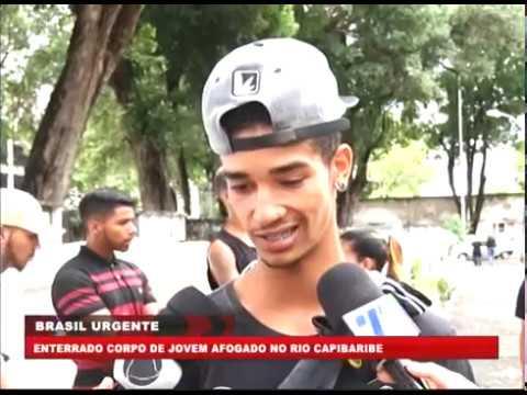 [BRASIL URGENTE PE] Sepultado corpo de jovem afogado no Rio Capibaribe