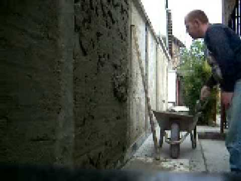 How To Cement Render A Wall tradionally