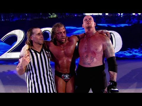 Video Superstars respond to Triple H vs. The Undertaker - Hell In A Cell: WrestleMania XXVIII download in MP3, 3GP, MP4, WEBM, AVI, FLV January 2017