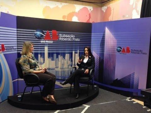 OAB na TV on Line nº 10, Patricia Romero Weizz e Christiana Paixão –  ESA