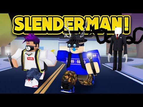 INSANE SLENDERMAN HACKER IN JAILBREAK! (ROBLOX Jailbreak)