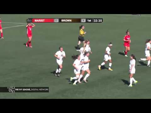 Highlights: Gould's Hat Trick Leads Women's Soccer to 4-0 Win over Marist