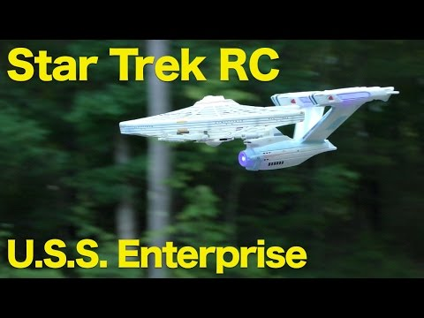 Star Trek U.S.S Enterprise NCC-1701-A, Remote Control Vehicle with Lights and Sounds