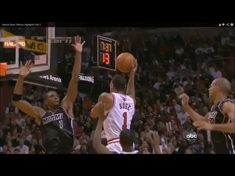 rose - Derrick Rose's jumpshots, floaters, runners, dunks, crossovers, spin moves, acrobatic finishes at the rim... derrick rose highlights bulls derrick rose retur...