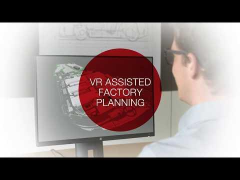 Magna Steyr VR Use Case Factory Planning (видео)