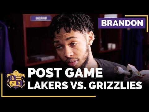 Video: Brandon Ingram On Lakers Character, Using His Length, Kentavious Caldwell-Pope