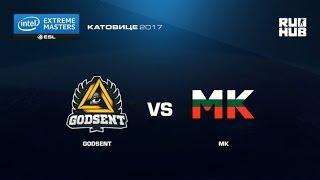MK vs Godsent - IEM Katowice EU Open Qulifier1 - map3 - de_overpass [yxo]