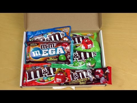 Little Box with M&M's mini Bags