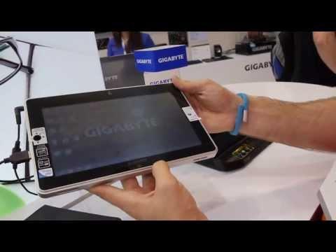 Gigabyte S1082 Tablet Hands On