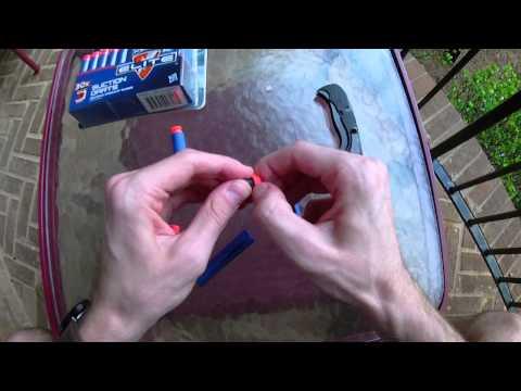 Honest Review: Nerf Elite Darts vs. Elite Suction Darts (Dissection + Range Test)
