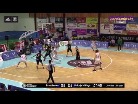 ANGT Coin: U18 Movistar Estudiantes Madrid vs. U18 Unicaja Malaga - Full Game