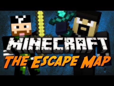 Minecraft Maps - The Escape w/ CavemanFilms! (Adventure Map)