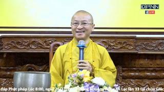 [LIVESTREAM] Vấn đáp Phật pháp - TT. Nhật Từ