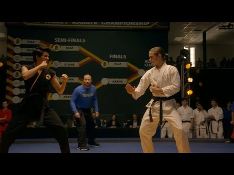 Cobra Kai - Final Fight Scene | Miguel vs Robby