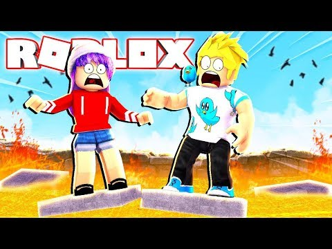 Chad and Audrey are Freaky Roblox Lab Experiments on Plates of DOOM!