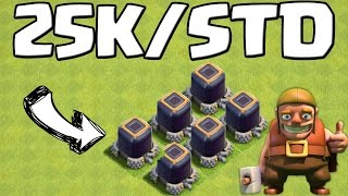 Video 25K DUNKLES ELIXIER PRO STUNDE!    CLASH OF CLANS    Let's Play CoC [Android iOS] MP3, 3GP, MP4, WEBM, AVI, FLV Oktober 2017