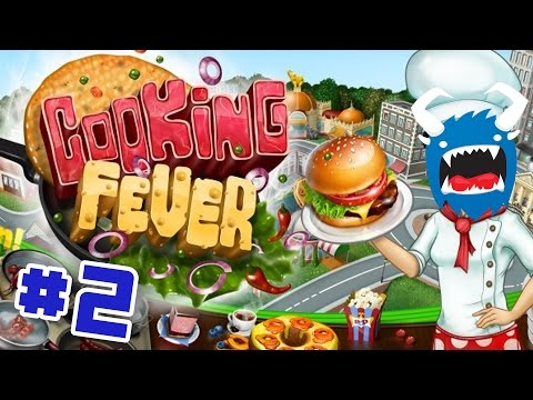 Cooking Fever Mobile - Ep 2 - The Demon Bakery (Mobile Let's Play)