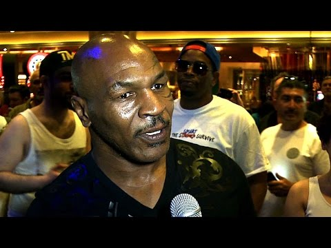 Mike Tyson on Mayweather vs. Pacquiao – ORIGINAL VIDEO – UCN Exclusive