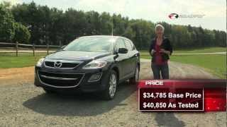 Mazda CX-9 2012 SUV Test Drive&Car Review With Emme Hall By RoadflyTV