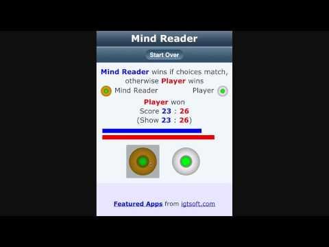 Video of Mind Reader