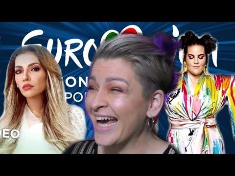 РОССИЯ vs ИЗРАИЛЬ (Реакция) | ЕВРОВИДЕНИЕ 2018 | EUROVISION 2018