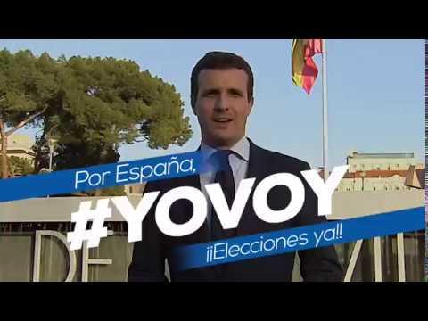 Pablo Casado, #YoVoy