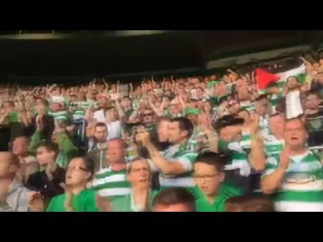 Video solidariti penyokong Celtic untuk Palestin