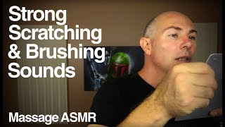 ASMR Binaural Brushing 4 Some Harsh Scratching and Brushing Sounds.  This type of sounds video is not for everyone.  I wanted to start with a little inaudible sounds and hand movements slowly go into stronger sounds.If you would like to help support you can in a number of ways:Patreon a monthly amount suggested $1 http://www.patreon.com/massageasmrDonation through Paypal: https://www.paypal.com/cgi-bin/webscr?cmd=_s-xclick&hosted_button_id=2GLQ475T9F8GUSocial Media LinksMy Tech Channel https://www.youtube.com/user/DmitriTechMechPatreon: http://www.patreon.com/massageasmrWebsite: http://www.massageasmr.comSound Cloud: https://soundcloud.com/massageasmrYoutube: https://www.youtube.com/user/MassageASMRGoogle Page: https://plus.google.com/+MassageASMRFacebook: https://www.facebook.com/massageasmrTwitter: https://twitter.com/MassageASMRI am an Amazon Associate, by clicking on links you will go to Amazon's website, if you purchase anything from amazon you will help support me.Video: Recorded on Panasonic HMC-152EN http://amzn.to/1qzbzhOMicrophones: Recorded in stereo on 2 x Rode NTG-3 Microphone - http://amzn.to/1sOGxlLMic Preamp - Tascam Uh-7000 - http://amzn.to/VdJFJeOld Recorder: Zoom H4N - http://amzn.to/1kbes5EMicrophone Cables - Neutrik Connectors with Mogami Cable - http://amzn.to/1sOIui0Tama Microphone Stands - http://amzn.to/1qzbZEEMemory Cards - Sandisk - http://amzn.to/1p93CJoArt Work Supplied byhttp://stores.ebay.com.au/Vast-prints-posters-artASMR stands for Autonomous Sensory Meridian Response it is described as a pleasurable tingling sensation that can be felt most commonly in the back of the scalp and down the spine but not limited to these area's.  I try to describe ASMR experience to people using something common like visiting a hairdresser, do you find the experience of someone focusing on you, the gentle touching of your hair, the sound of the scissors moving around you relaxing?That would be a relaxing experience, watching ASMR video is like recreating