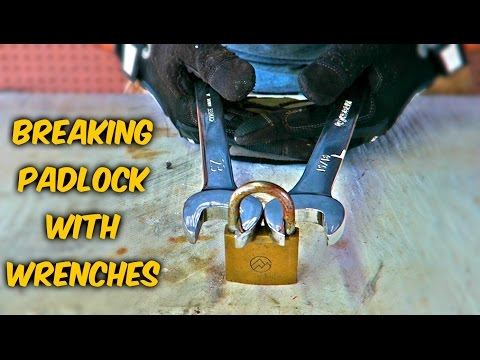 Can You Actually Break Padlock with Wrenches?