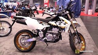 10. 2015 Suzuki DR-Z 400SM - Walkaround - 2014 New York Motorcycle Show